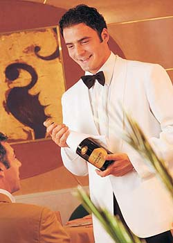 Waiter on Cruise Lines 02