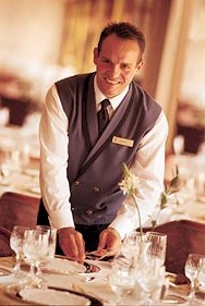 Waiter on Cruise Lines 03