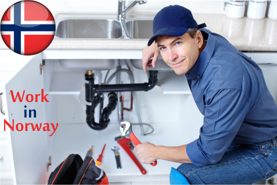 Are you a Plumber? Would you like to work in Norway ?